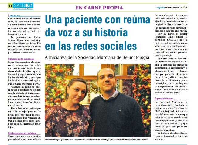 Aniversario Sociedad Murciana de Reumatología